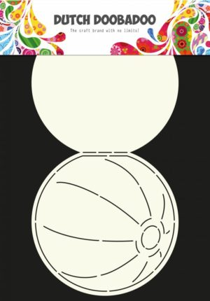 470.713.600 Dutch Doobadoo Card Art Stencil Beach Ball-0