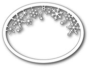 99480 Memory Box Die Snowflake Oval Frame -0