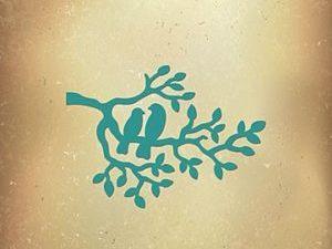 VIND039 Nellie Snellen Die Vintasia Romantic Birds Branch-0