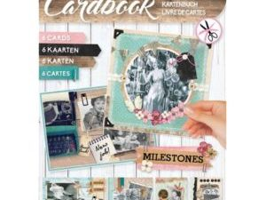 CARDBOOKSL04 Studio Light Udstanset 3D blok Milestones-0