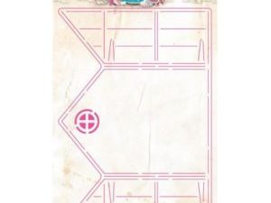 CARDSHAPERS01 Studio Light Romantic Summer Card Shape Stencil -0