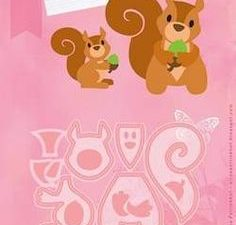 COL1410 Marianne Design Die Collectables Elines Squirrel-0