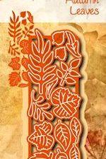 6002/0580 JOY Die Cut/emb Autumn Leaves-0