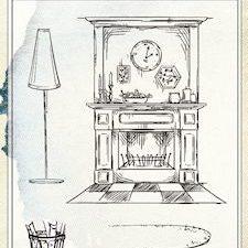 6410/0422 JOY Stempel Home Sweet Home Pejs-0
