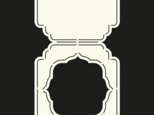 470.713.312 Dutch Doobadoo Card Art Stencil Tent-0