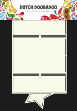 470.713.604 Dutch Doobadoo Card Art Stencil Star-0