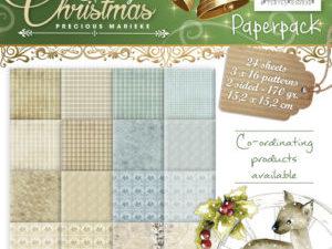 PMPP10011 Precious Marieke Papirsblok Spirit of Christmas-0