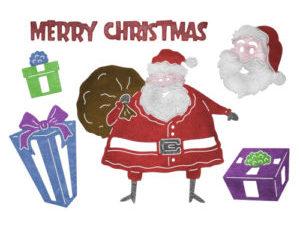 B835 Cheery Lynn Die Fun Santa-0