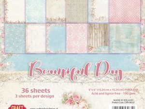 CPB-BD15 Craft & You Papirblok Beautiful Day -0