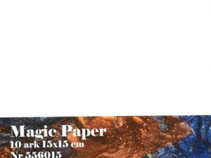 556015 Hobbygros Magic Paper 10 ark -0