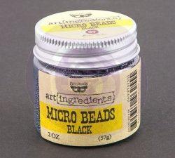 962555 Prima Marketing Art Ingredients Micro Beads Black-0