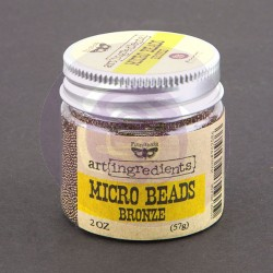 962586 Prima Marketing Art Ingredients Micro Beads Bronce-0