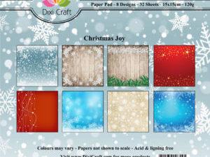 PP0065 Dixi Craft Papirspakning Christmas Joy -0