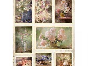 RP SL 45 StudioLight 3D udstanset 1 ark Romantic Flowers-0