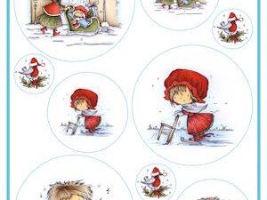 DDK3217 Marianne Design 3D ark Nostalgic Christmas-0