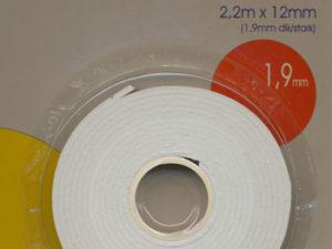 508711 LeSuh 3D foam tape 1,9mm x 2,2meter -0