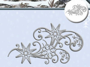 ADD10082 Amy Design Die Wintertide Swirvl med Snefnug-0