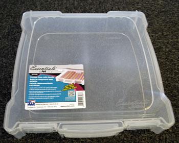6913AB Artbin plast æske 30,5 x 30,5 cm-0