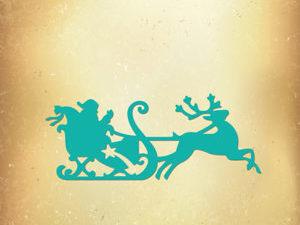 VIND046 Nellie Snellen Die Vintasia Christmas Julemanden med sin kane-0