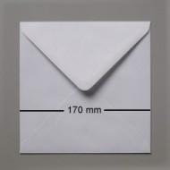KU17 Kuverter 17 x 17 hvide, 100 stk.-0