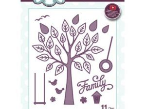 CED1471 Creative Expressions Sue Wilson Die Finishing Touches Family Tree-0
