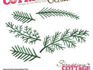 CC-182 Cottage Cutz Die Spruce Stems-0