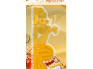 6002/0371 JOY Die Cut/emb Tropical Fruit-0