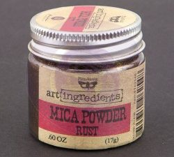 962548 Prima Marketing Art Ingredients Mica Powder Rust-0