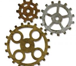 661193 Sizzix Die Tim Holtz Bigz Gadget Gears #2-0