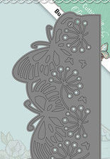 YCD10085 Yvonne Creations Die Spring Tastic Butterfly Border-0
