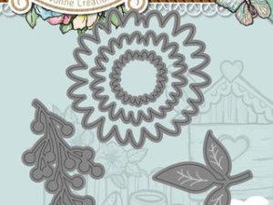 YCD10088 Yvonne Creations Die Spring Tastic Foliage-0