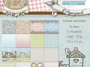 YCPP10011 Yvonne Design Papirblok Spring Tastic -0
