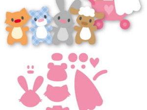 COL1422 Marianne Design Die Collectables Cut Eline's Baby Animals-0