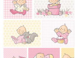 AK0064 Marianne Design 3D Ark 1 stk Eline's Sweet Little Girls-0