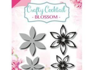 6004/0009 JOY Die Cut/Stamp Crafty Cocktail Blossom-0
