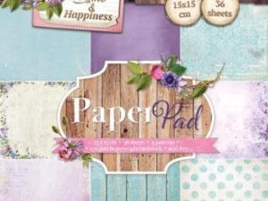 PPHH39 Studiolight Papirblok Home & Happiness -0