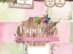 PPHH40 Studiolight Papirblok Home & Happiness-0