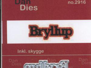 2916 Dan Dies Mellem Bryllup med Skygge -0