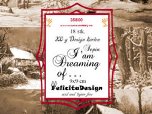 35800 Felicita Design Toppers 9x9cm I`am Dreaming Of-0