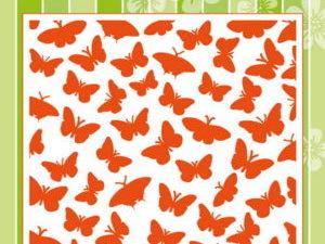 DF3433 Marianne Design Embossingfolder Butterflies-0