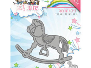 YCD10094 Yvonne Creations Die Tots & Toddlers Rocking Horse-0
