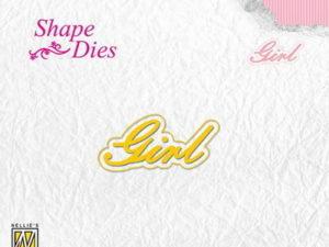 SD119 Nellie Snellen Die Shape Die Girl-0