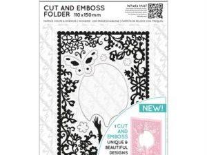 XCU 503814 Docraft Xcut Skære & Embossingfolder Elegant Lady-0