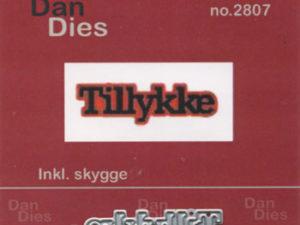 2807 Dan Dies Lille Tillykke med Skygge -0