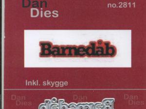 2811 Dan Dies Lille Barnedåb med Skygge-0
