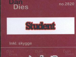 2820 Dan Dies Lille Student med Skygge-0