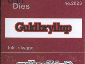 2823 Dan Dies Lille Guldbryllup med Skygge-0