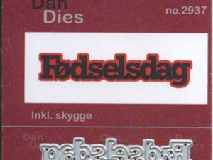 2937 Dan Dies Mellem Fødselsdag med Skygge -0