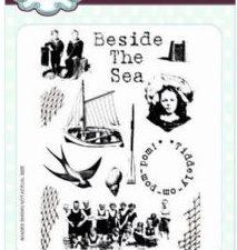 CER015 Creative Expressions Sue Wilson Stempel Gummi A5 Beside The Sea-0