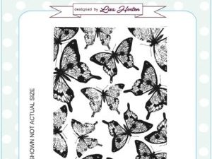 UMS776 Creative Expressions Sue Wilson Stempel Gummi A6 Beautiful Wings Background-0